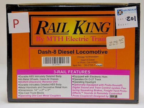 Rail King Chicago Northwestern Dash-8 Diesel Train