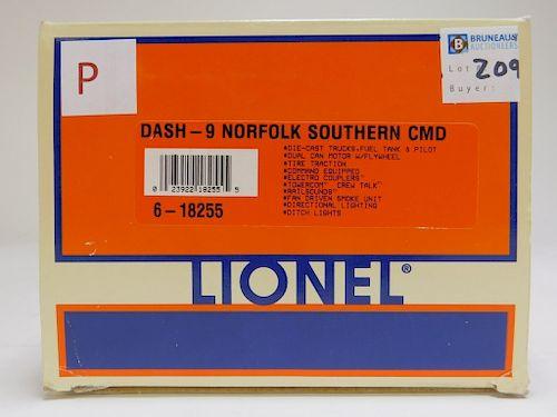 Lionel Dash-9 Norfolk Southern Command Locomotive