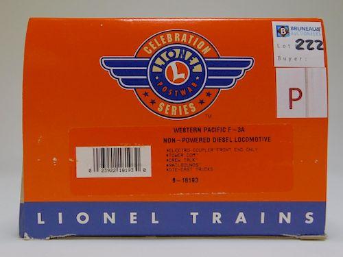 Lionel Western Pacific F-3A NP Diesel Locomotive