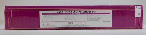 MTH French 5 Car SNCG Passenger Train Set