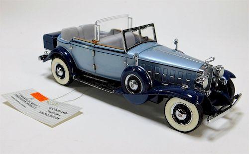 Franklin Mint 1:24 1932 Cadillac Phaeton Diecast