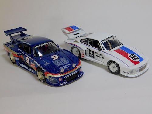 2PC Exoto Racing 1:18 Porsche 935 Diecast Car