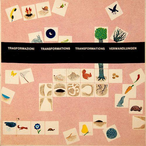 Educational game 'Trasformazioni', 1975