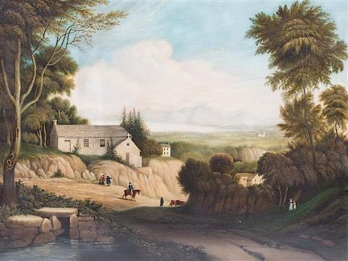 William Maurice, (British, 19th Century), Derwent-Water, From Applethwaite, 1842