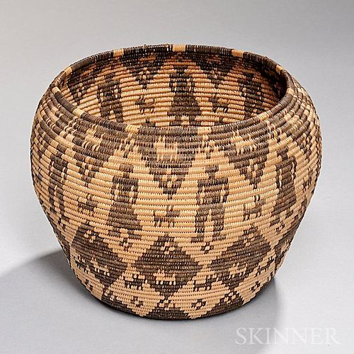 Apache Pictorial Basketry Bowl