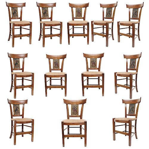 Twelve French Chairs