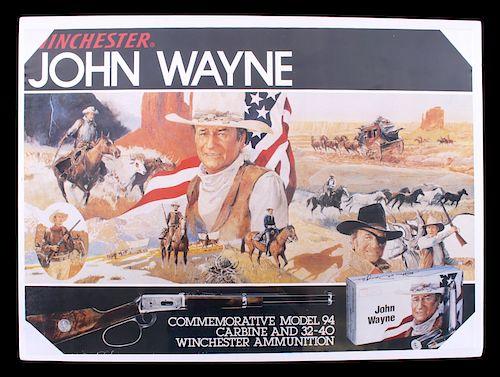 Winchester John Wayne Commemorative Store Display by North American