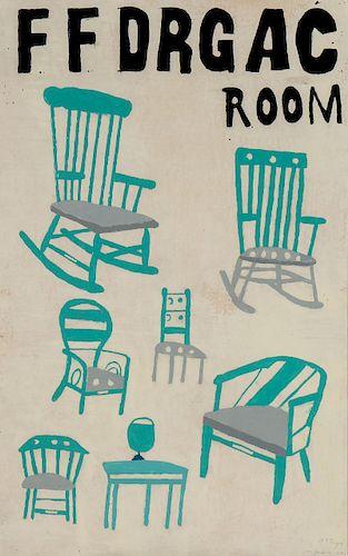 """Uncle Pete Drgac (1883-1976) """"Room"""""""