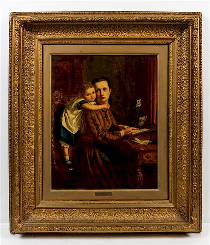 After Sir John Everett Millais, (19th century), The Letter, 1876
