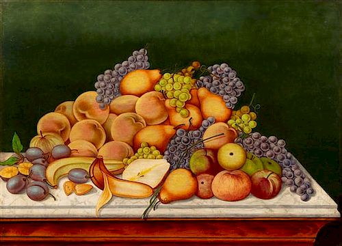 Artist Unknown, (Early 20th century), Still Life with Fruit