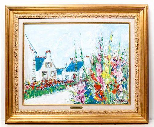 * Yolande Ardissone, (French, b. 1922), Cottages