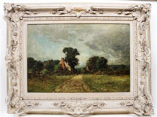 Edward Loyal Field, (American, 1856-1914), Countryside Homestead