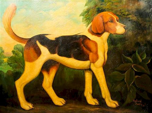 Reginald Baxter, (Canadian, 20th Century), Beagle