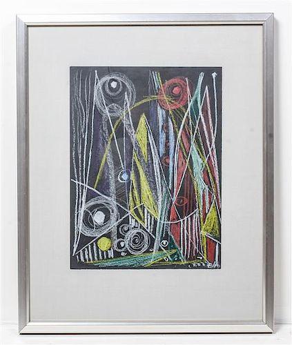 * Else Alfelt, (Danish, 1910-1974), Mountain Peaks, 1939