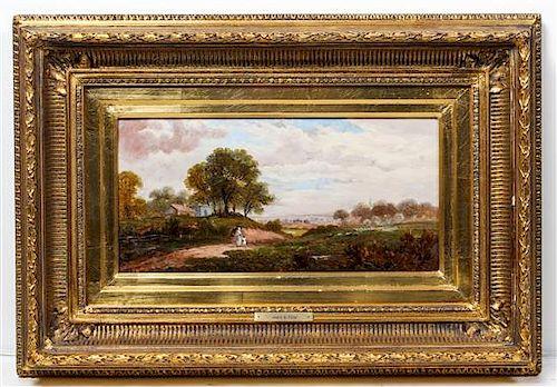 James B. Cook, (Scottish, 19th century), Landscape Scene
