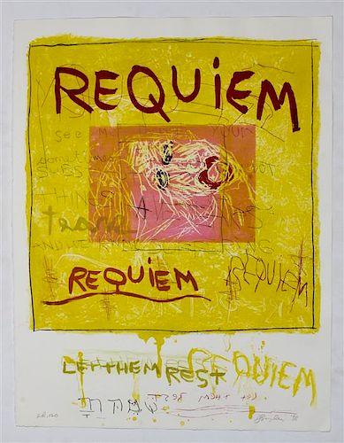 Joan Snyder, (American, b. 1940), Requiem, 1998