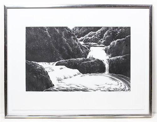 April Gornik, (American, b. 1953), Cascading Waterfall, 1998