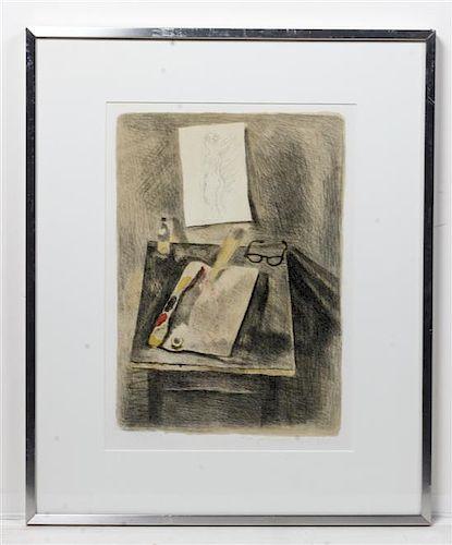 Raphael Soyer, (American, 1899-1987), Still Life (from Memories), 1969