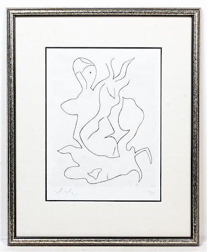 * Jean (Hans) Arp, (French, 1887-1966), Paroles Peintes II, 1965