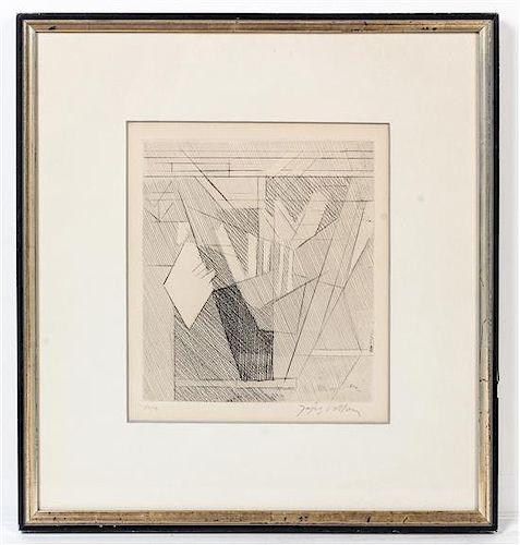* Jacques Villon, (French, 1875-1963), Composition, 1957