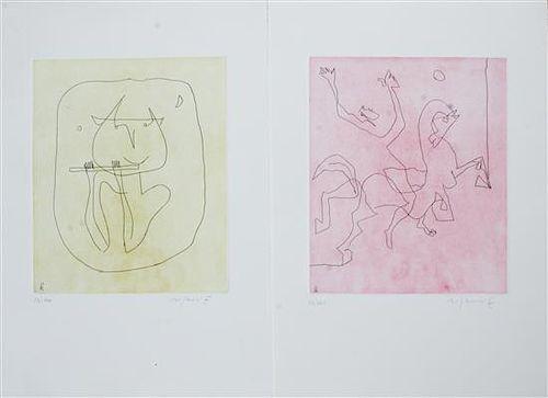 * Artist Unknown, (20th century), two works
