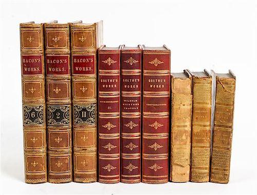 * [BINDINGS] A group of bindings, multiple works
