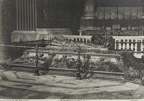 ALINARI BROTHERS and others. Late 19th century. Italian Sculpture & Art. 19 albumen prints.