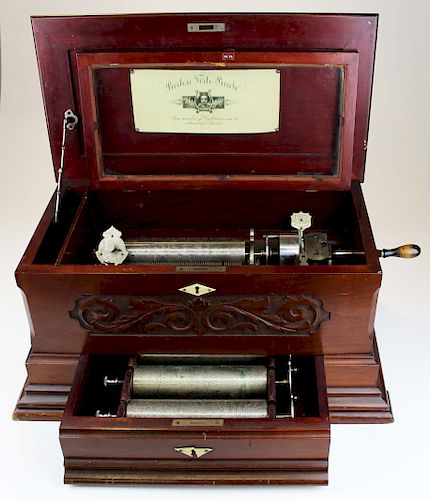 Peerless Forte Piccolo cylinder music box