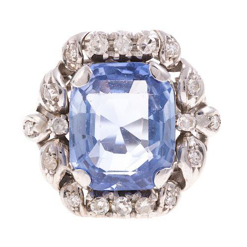 9084f27b8 An Art Deco Tiffany & Co Unheated Sapphire Ring by Alex Cooper ...