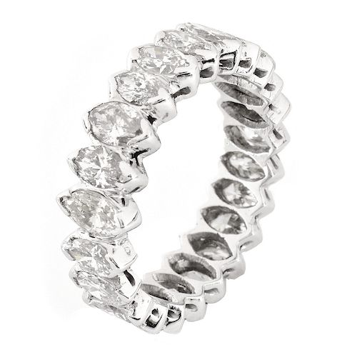 6.0ct Diamond and Platinum Eternity Band