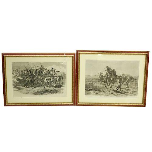Two Orientalist Engravings