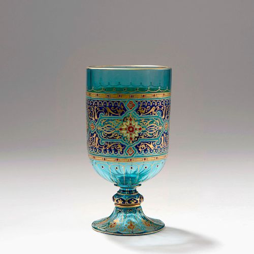 Aquamarine' glass, 1876