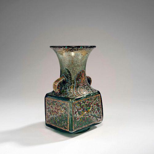 Inspiration Persanne' vase with handles, c. 1880