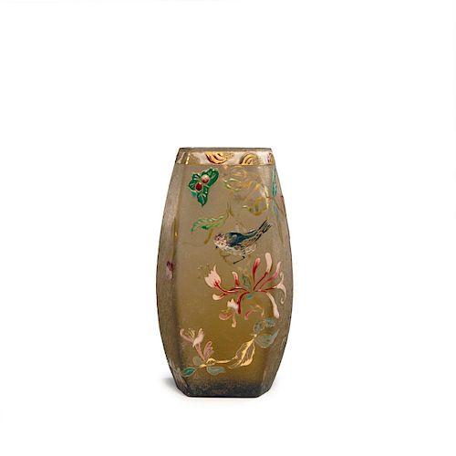 Chevre-Feuille et Moineau' vase, 1895-1900
