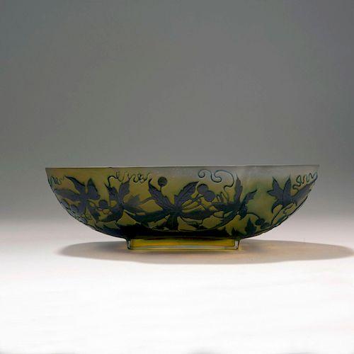 Vigne vierge' bowl, 1906-14