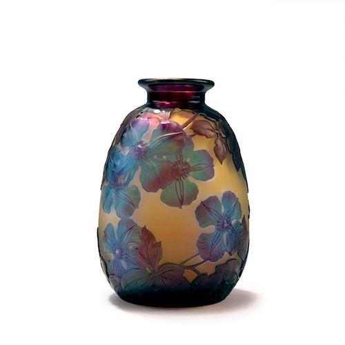 Clematites' Souffle vase, 1925s