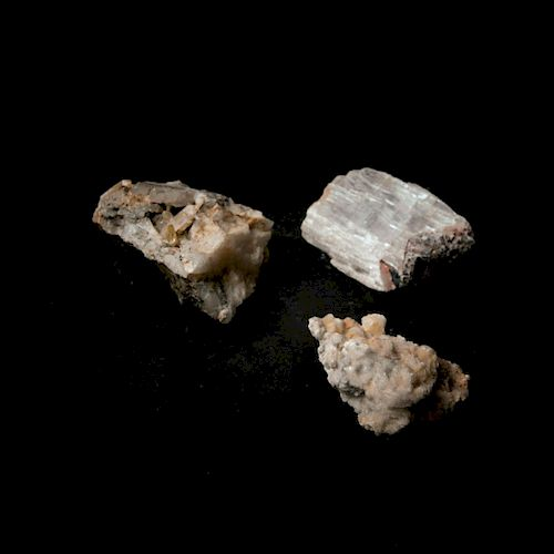 Mixed lot minerals (3 pieces)