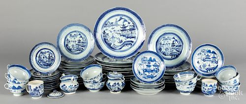 Chinese export Canton porcelain, 19th c.