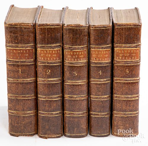 The English Baronetage, in five volumes
