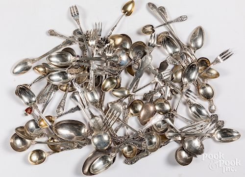 Sterling silver flatware, 38.7 ozt.