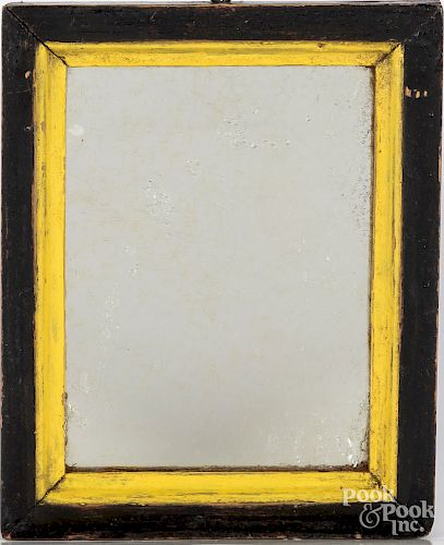 Two small country mirrors, 19th c.