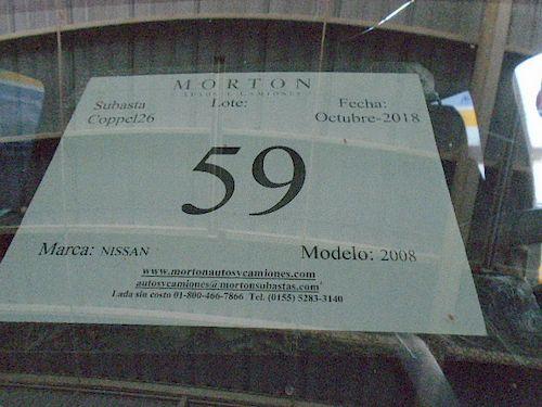 Pasajeros Nissan 2008