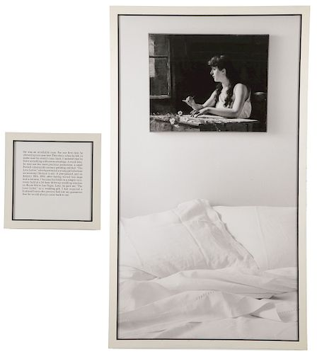 ORGINAL SOPHIE CALLE WITH GREAT PROVENANCE