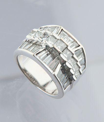 14K 3.71 CTW Diamond Ring