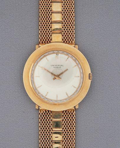 18K Universal Geneve Wristwatch