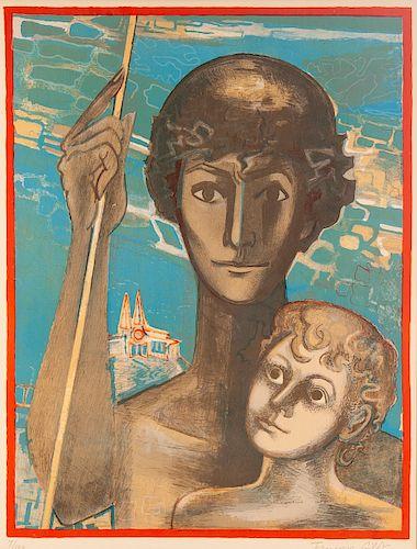 Francoise Gilot (French/American, b. 1921)