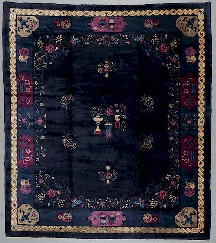 Antique Peking Rug, China: 10'8'' x 12'0''