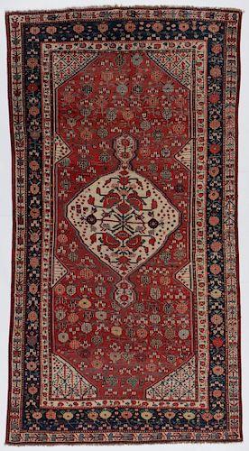 Antique Khamseh Rug, Persia: 5'4'' x 9'10''