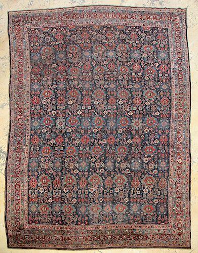 Antique Bidjar Rug, Persia: 12'8'' x 20'0''