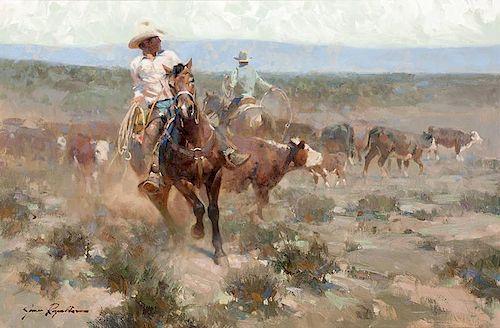 James Reynolds 1926 - 2010 CAA, NAWA | Victorio Cowboy